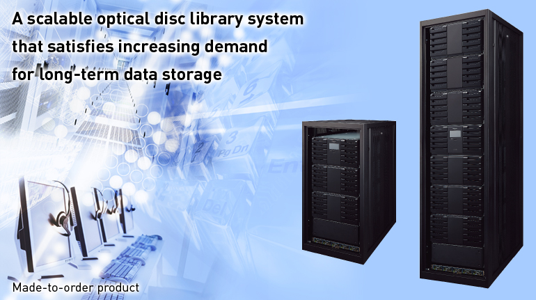 A Scalable Optical Disc Library System That Satisfies Increasing Demand For Long Term Data Storage