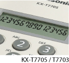 Image is for KX-T7705 / KX-T7703