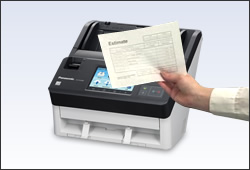 image of Thin Paper Scanning