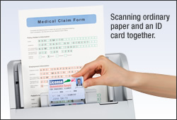 image of Mixed Paper and Hard Card Batch Scanning