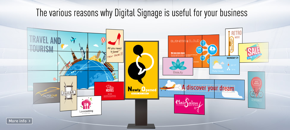The various reasons why Didital Signage is useful for your business