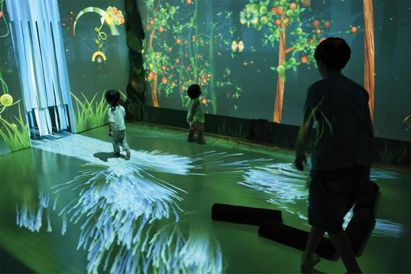 Interactive Wall Kids Room