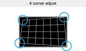 4 corner adjust