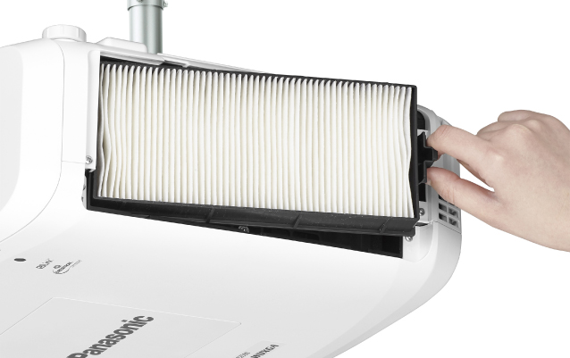 Easy Lamp and Filter Replacement02