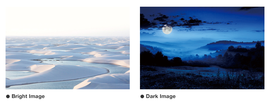 Bright Image / Dark Image