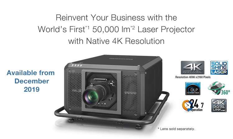 PT-RQ50K | Preliminary Product Information | Projector | Panasonic