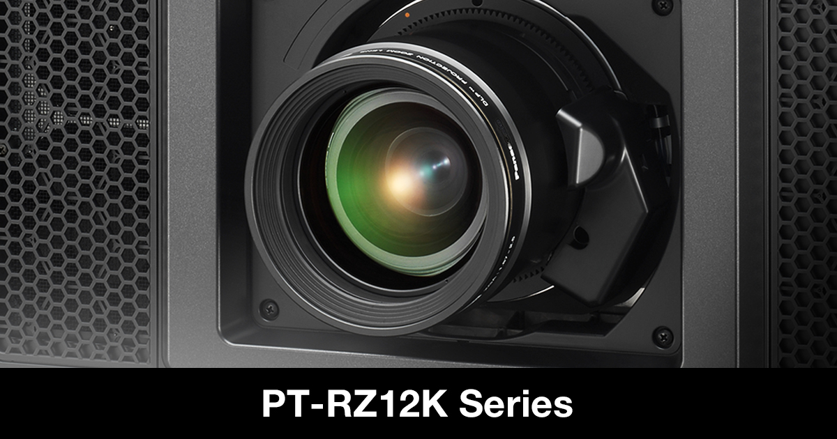 PT-RZ12K, PT-RS11K | Projector | Panasonic Global