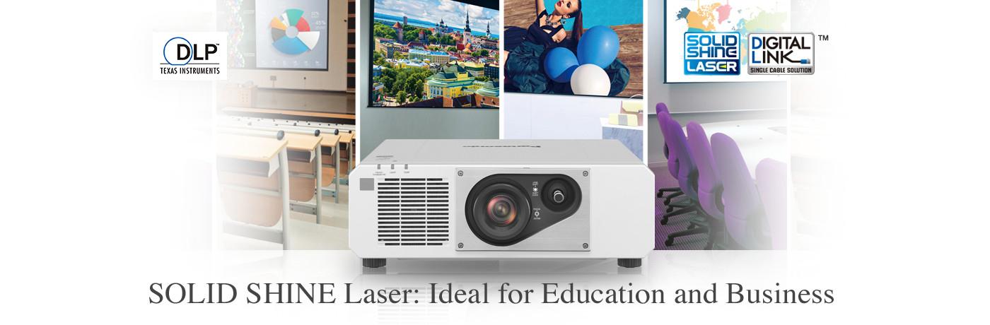 Premier DLP™ Images Meet SOLID SHINE Laser Power