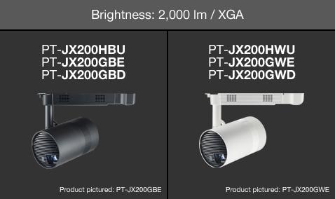Brightness: 2,000 lm / XGA