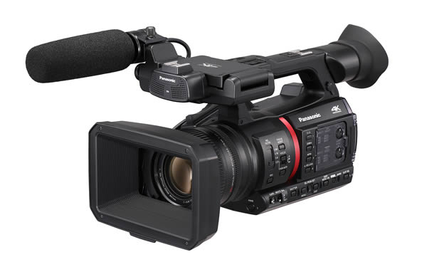 photo:Professional 4K Camcorder Memory Card Camera Recorder  AG-CX350