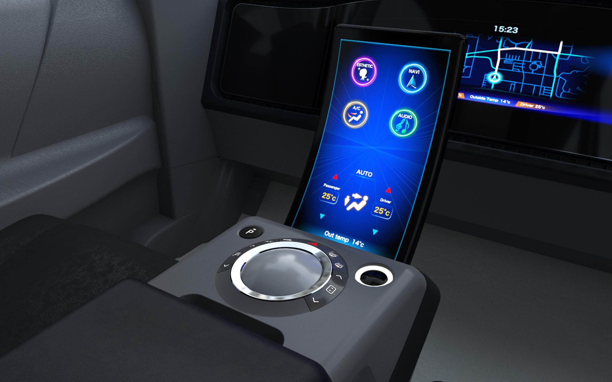 Car Cockpit Panasonic Design Panasonic