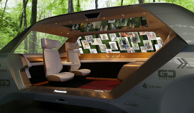The Future For Car Mobility Panasonic Design Panasonic