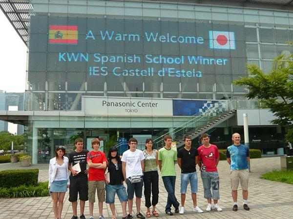 Winner of Spanish KWN Contest Visits Tokyo