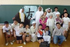 Participating UAE and Japanese Schools Enjoy Cultural Exchange