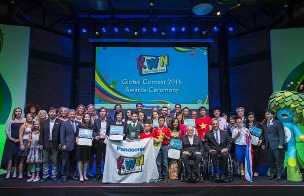 KWN Award Ceremony 2016 held in Brazil during the 2016 Rio Paralympic Games