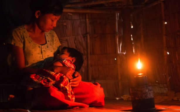 New Solar Lanterns Tested At A Temple School In Myanmar