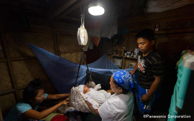 Philippines Solar Lanterns For Health In Villages Without