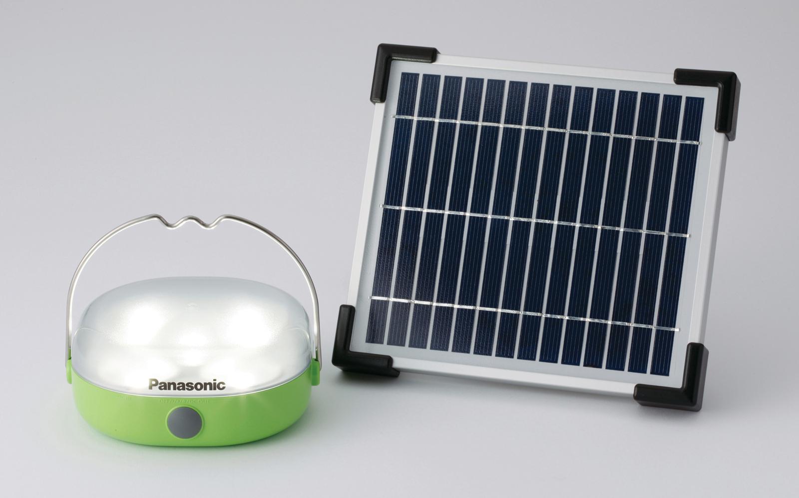News] Panasonic to Release New Solar LED Lantern   100 THOUSAND ... for emergency lamp panasonic  56mzq